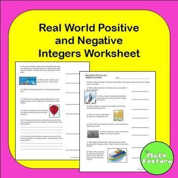Positive And Negative Real World Number Representation Negative