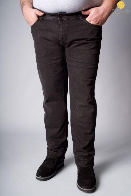 eb9b8d81aa17 XXL ΠΑΝΤΕΛΟΝΙ HATTRIC ΤΖΙΝ - 00000362 - GREY DENIM KingSizeSoufleris Black  Jeans
