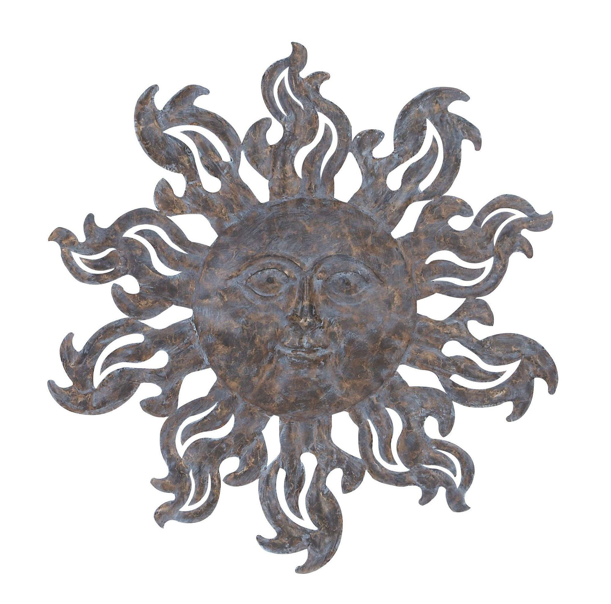 Metal sun wall decor products pinterest wall décor and products