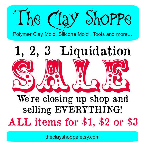 Liquidation SALE - Everything must go - All items for 1, 2 or 3 Dollars