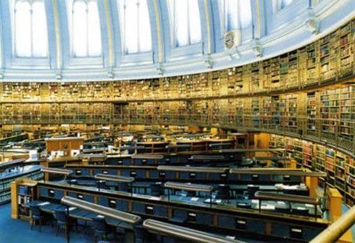 Vieja Sala de lectura británica, Museo británico - Londres, Inglaterra