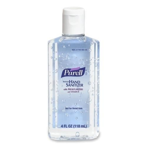 Gojo Industries Purell Hand Sanitizer 4 Oz Bulk Portable 8