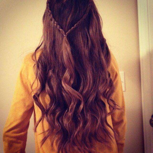 braids and curls @Hannah Whatcott