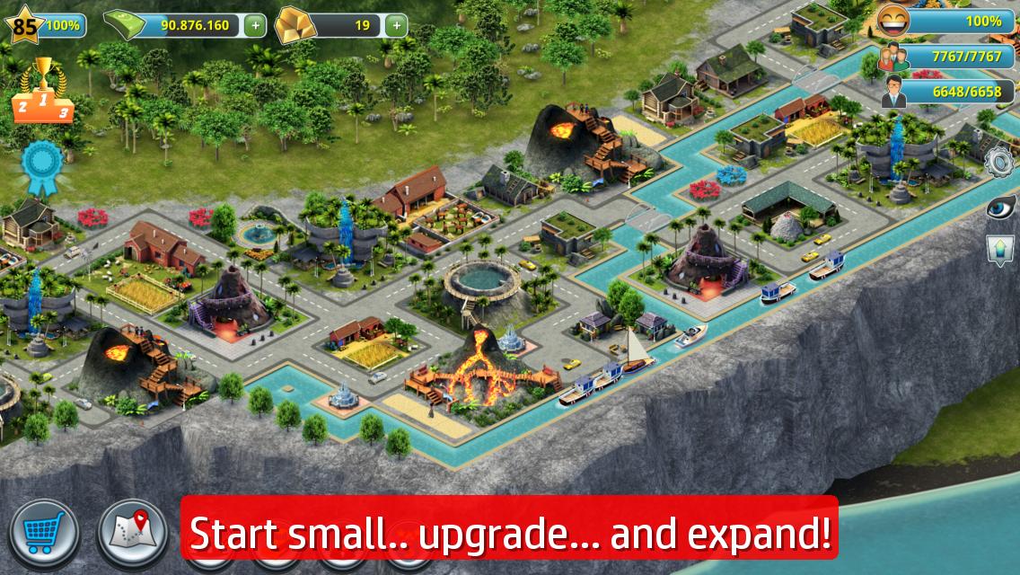 City Island 3 Building Sim V1 8 11 Apk Descargar With Images City Island Virtual City City Builder Games
