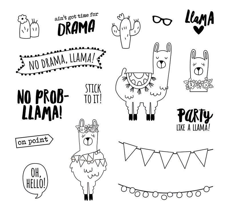 Llama Free And Printable Coloring Page By Karma Gifts Coloring