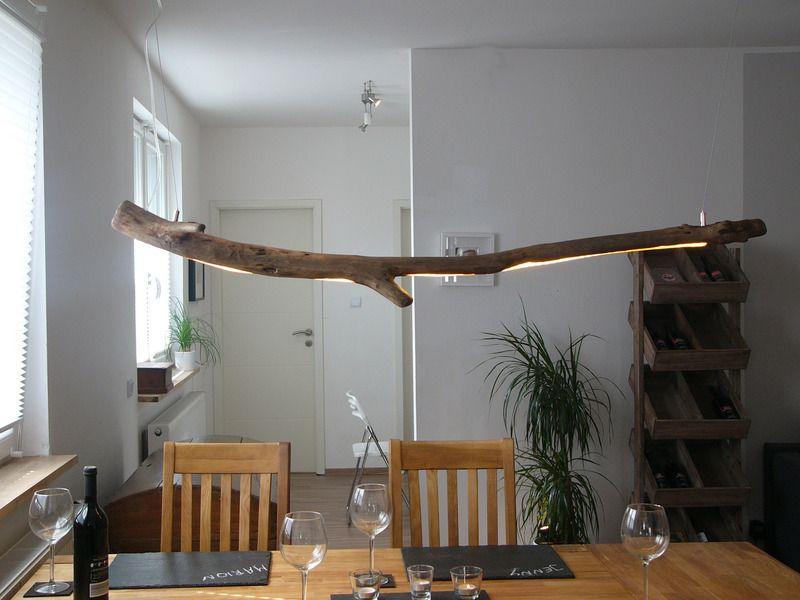 Hängeleuchte Treibholz hängelampe+treibholz+hängeleuchte+holz+inkl.+leds+von+peka-+ideen+