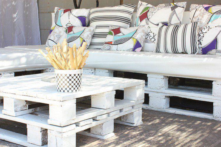 Billige Gartenmöbel - 20 Möbelideen mit Paletten Garten und - lounge gartenmobel gunstig