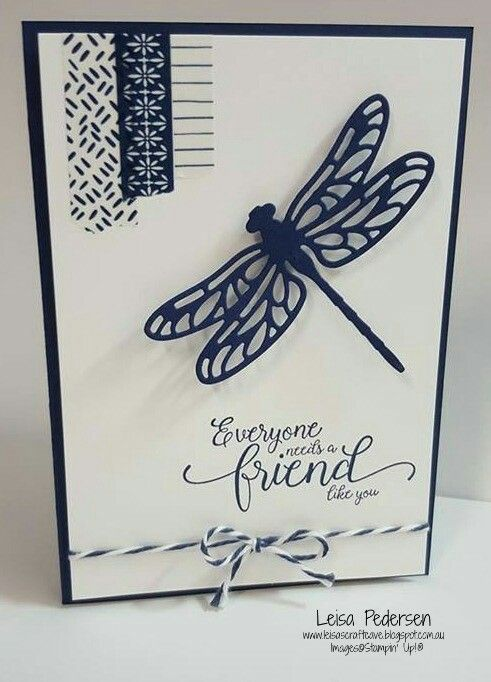Friend - #handmadecards  #leisascraftcave #stampinup