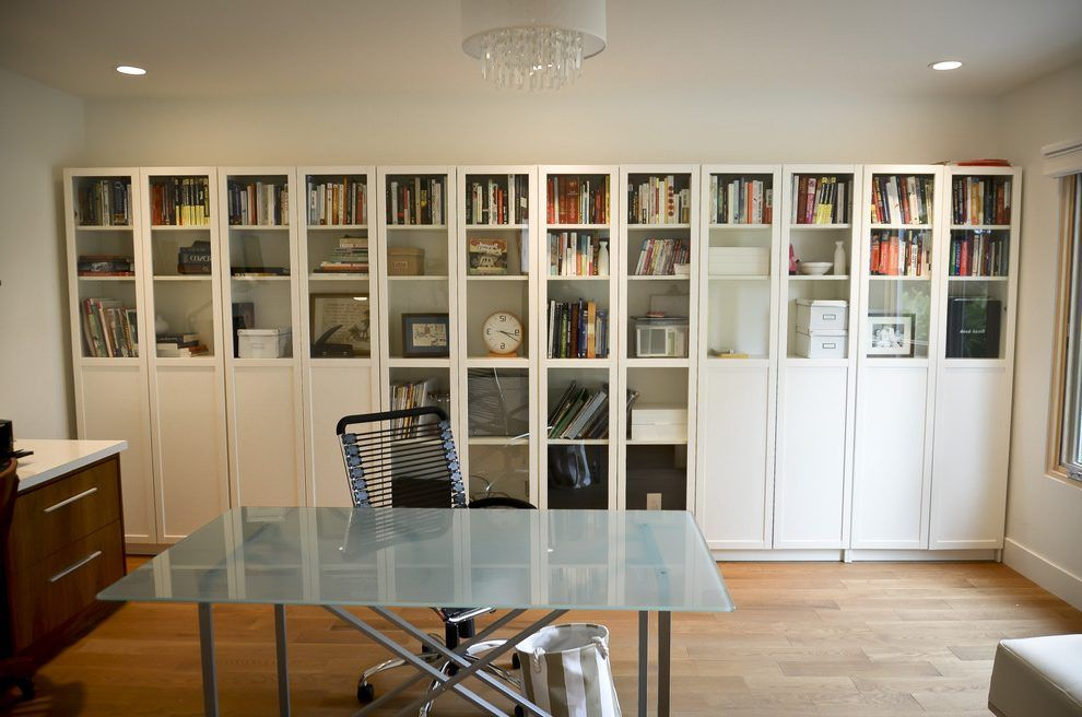 Ikea Billy Bookcase Hack Home Office Contemporary With Shelf