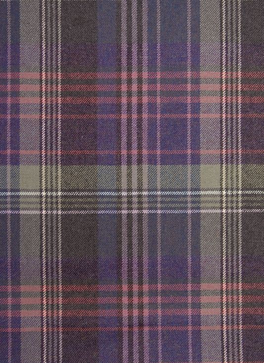 Crimond Lambswool Fabric 100 Lambswool Tartan Upholstery Fabric A