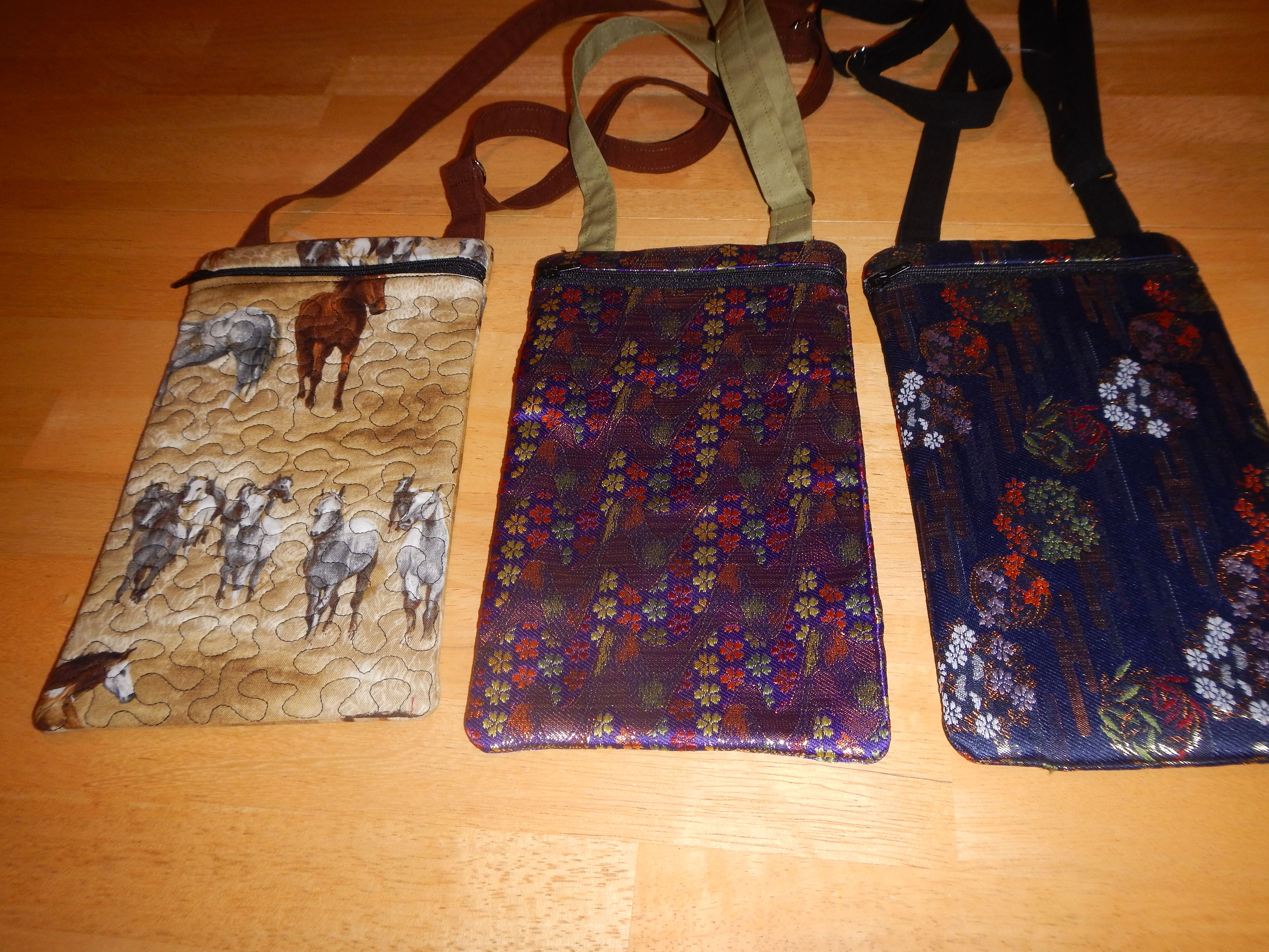 Hipster purses Ed made