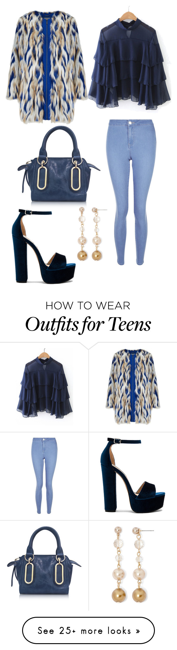 """Untitled #443"" by rubysparks90 on Polyvore featuring See by Chloé, New Look, Steve Madden and Vieste Rosa"