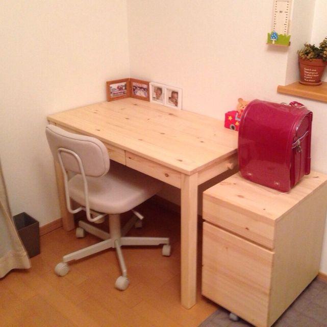 IKEAの「ALEX 引き出しユニット」で学習机をつくる|マイ定番スタイル | ROOMIE(ルーミー)