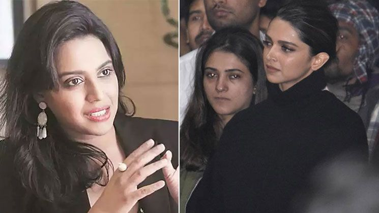 Swara Bhasker Thanks Deepika Padukone For Standing Shoulder To Shoulder With Jnu Students In Their Fight Against The In 2020 Deepika Padukone Bollywood News Actresses