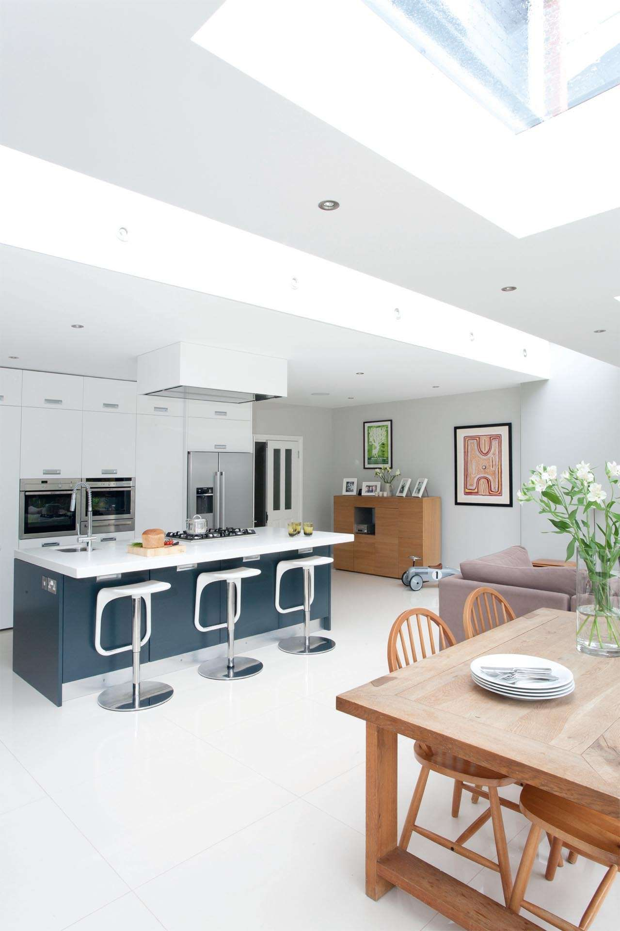 Kitchen Diner Extension Design Extending A Semi Detached House Real Homes Home Ideas Kitchen