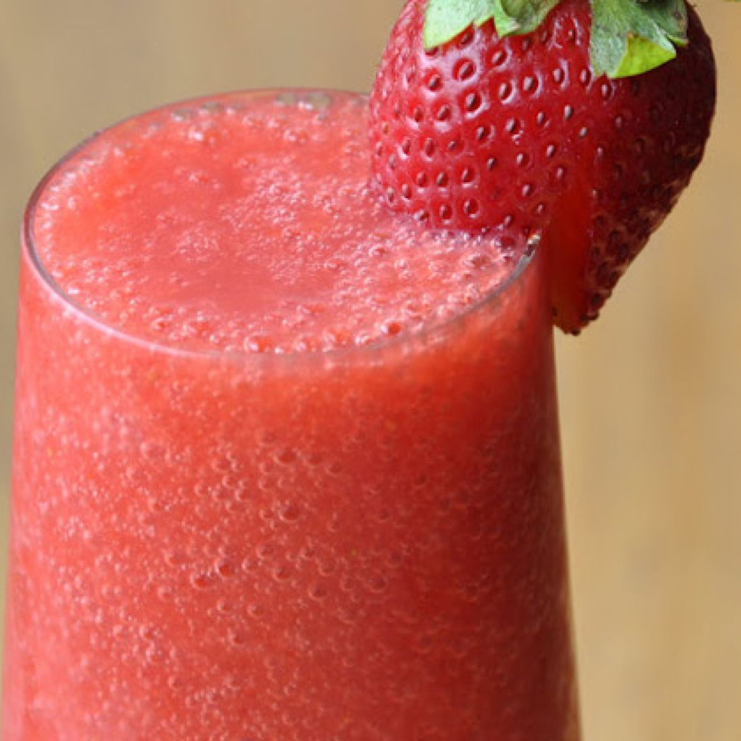 Non-Dairy Strawberry Smoothie #fruitsmoothie