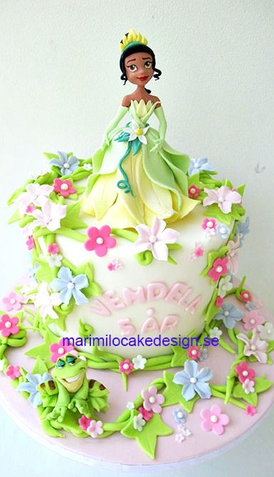 Princess Tiana Cake From Princess And The Frog Cakes And