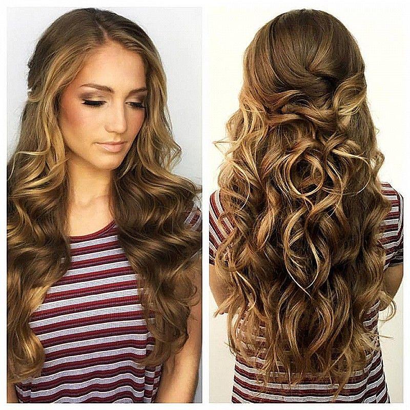 Awesome Easy Semi Formelle Frisuren Fur Langes Haar Neueste Frisuren 2018 Easy Formal Hairstyles Formal Hairstyles For Long Hair Hair Styles