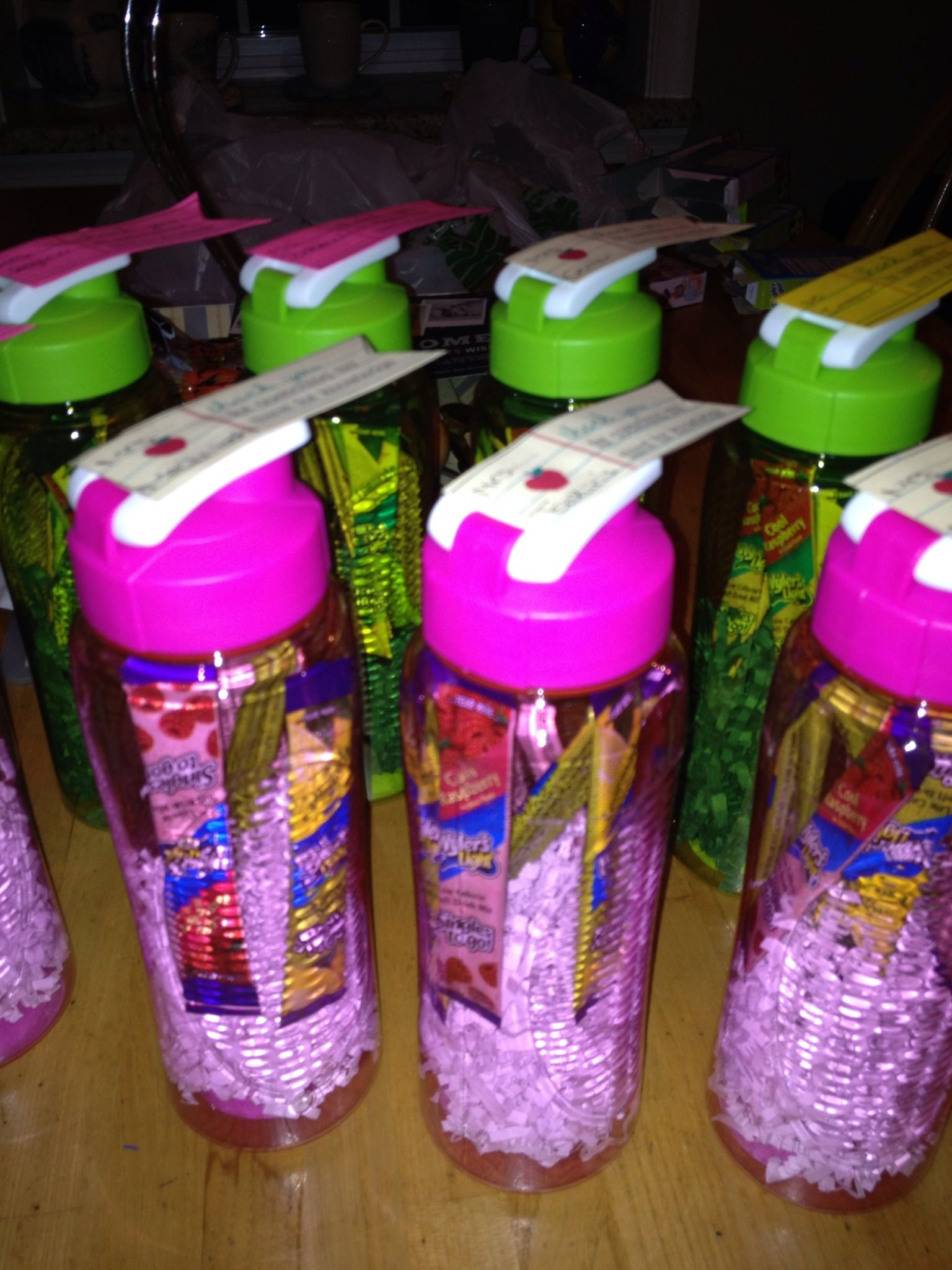 Dollar Store Water Bottles And Drink Mixes For An Easy And