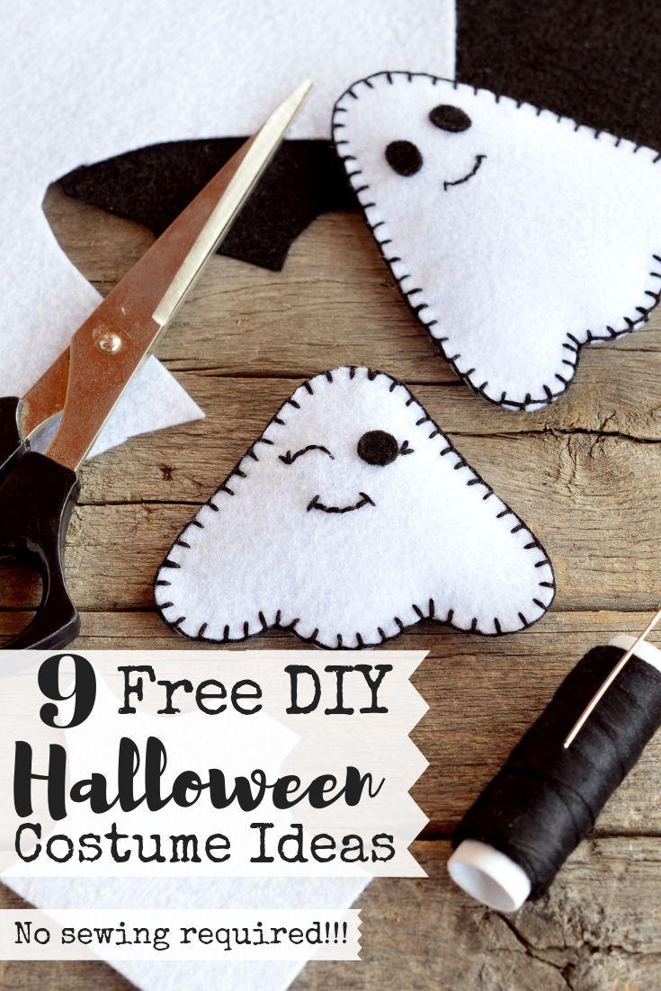 9 free halloween costume ideas   halloween   pinterest   parenting