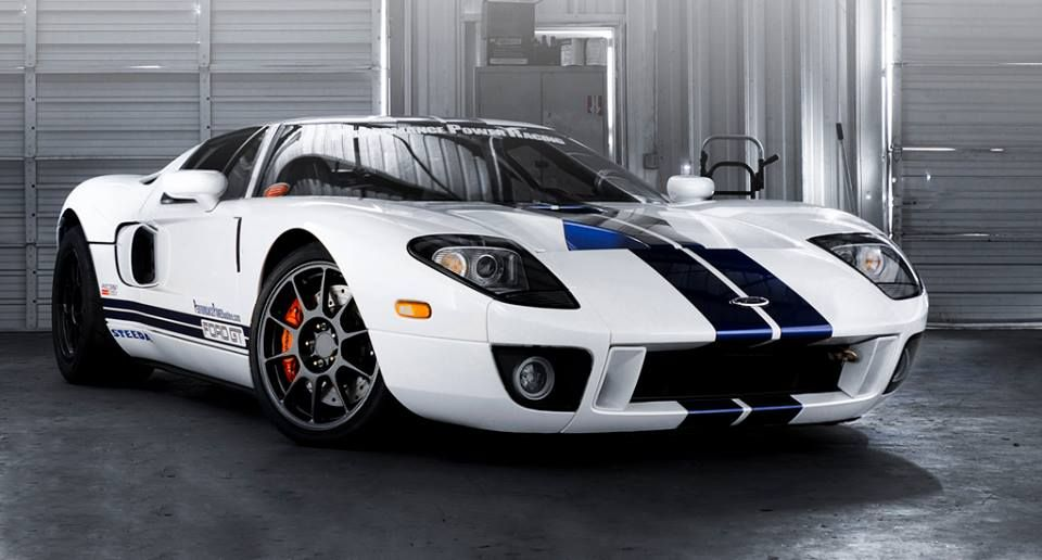 Ford Gt V8 With 1700 Hp Ford Gt Ford Gt40 Ford Racing
