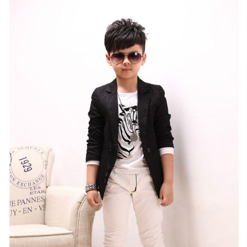 8160923b4ce9d Kids Outwear Jacket 2017 Hot Sale Boys clothes Blazers Kids Long ...