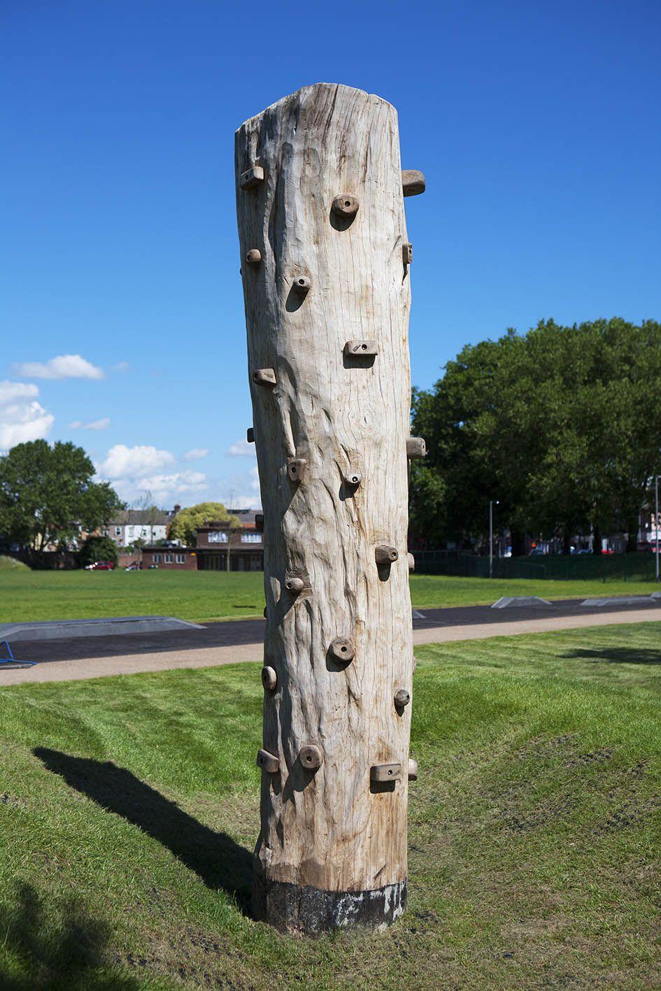 climbing wall totem for children pinterest climbing wall
