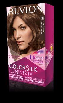 Revlon Colorsilk Luminista Vibrant Shimmering Color For Naturally Dark Hair My Shade 120 Golden Brown