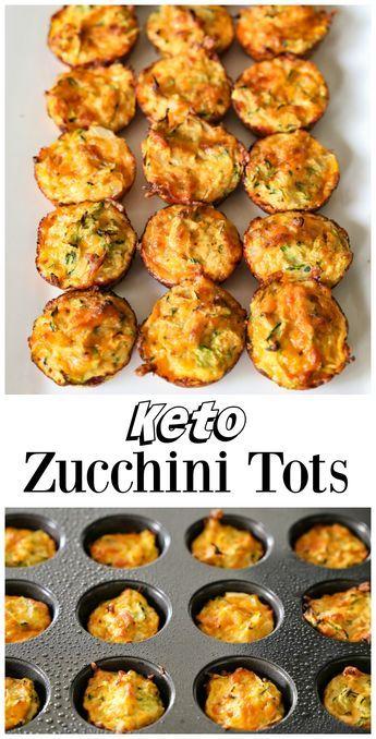 Zucchini Tots   Recipe   diet food??   Ketogenic cookbook, Diet recipes, No carb diets