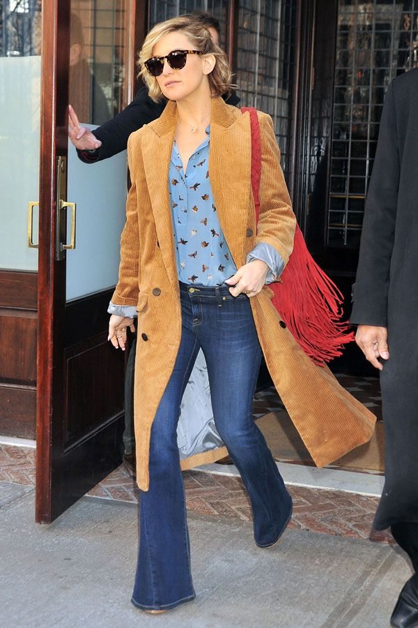 Kate Hudson Nails \'70s Cool With This Affordable Topshop Ensemble ...