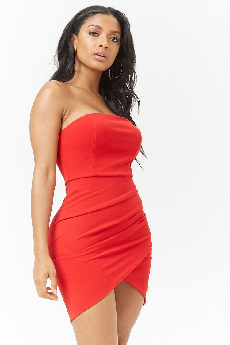 Ruched Bodycon Dress | Dresses - Forever