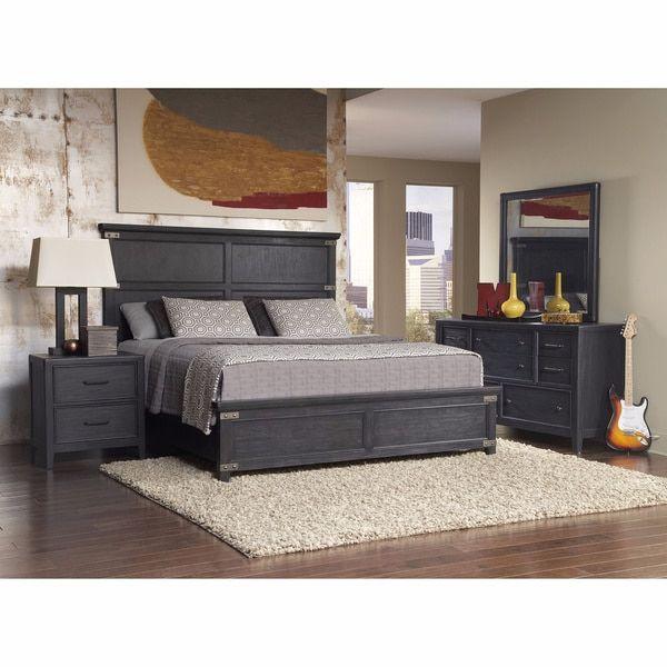Hampton 6-piece King-sized Bedroom Set - 18410844 - Overstock