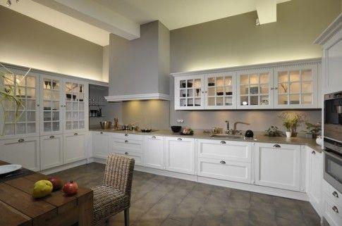 cocina blanca amplia Cocinas de Ensueño!! Pinterest Cocina - Cocinas Integrales Blancas