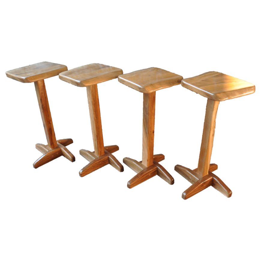 Spotted Gum Bar Stools Perfect the home bar! | Selected Timbers ...