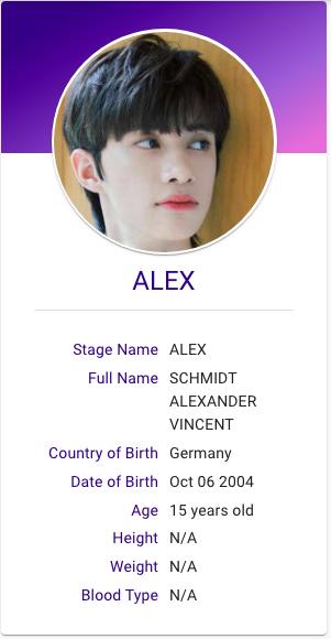 Schmidt Alexander Aka Alex Drippin Woollim Entertainment Variety Show Kpop Profiles