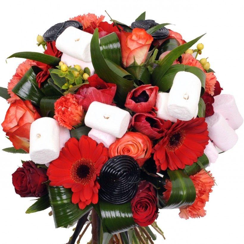 Bouquets De Fleurs Bonbons Recherche Google Mariage Pinterest