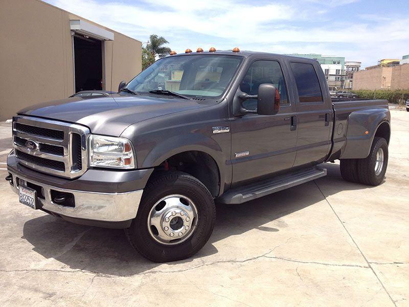 2005 6.0l powerstroke ford f350 crew cab, long bed 4wd dually