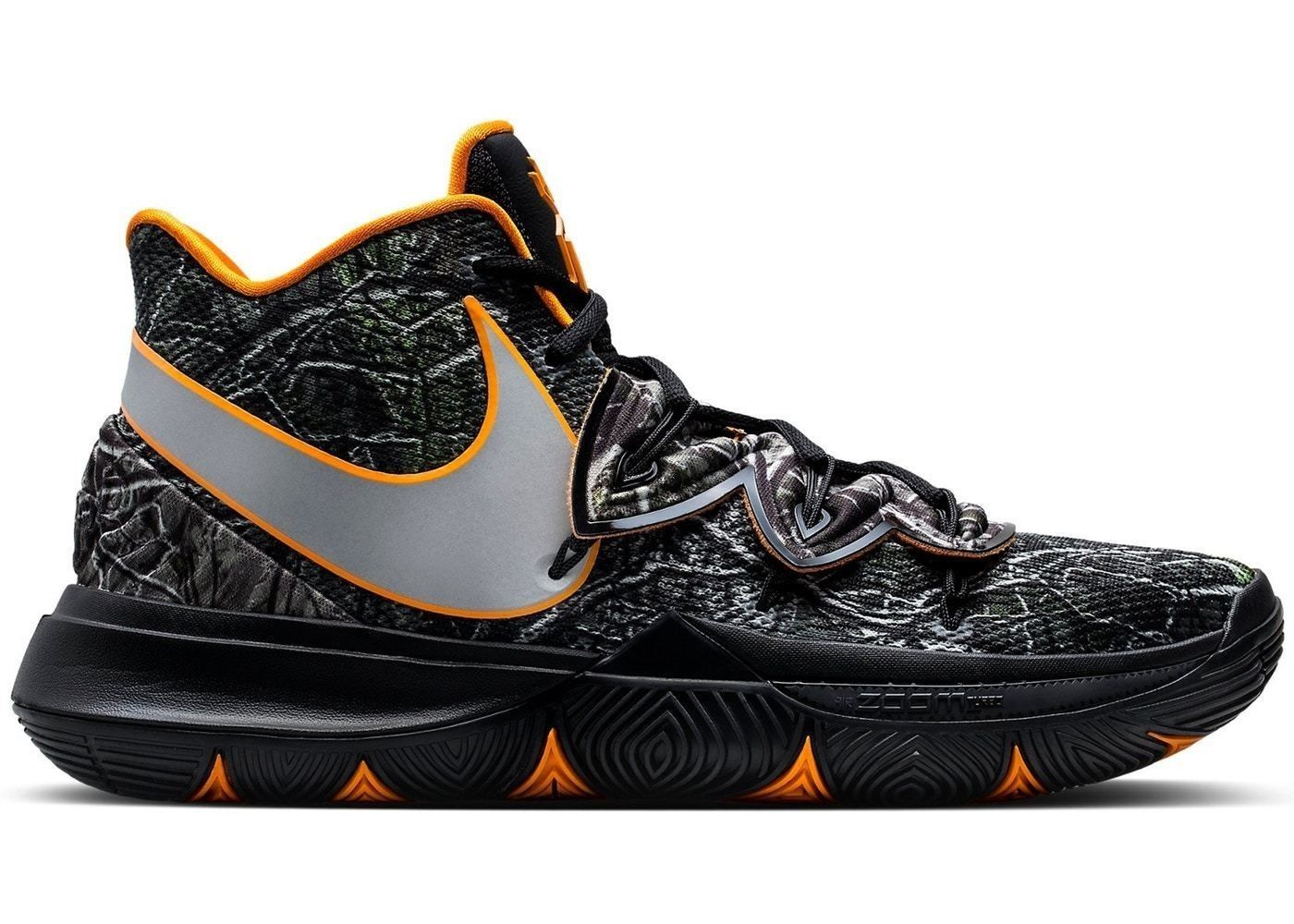 7dc5a990c672 Details about Nike Kyrie Irving 5 V Taco PE Black Orange AO2918-902 ...