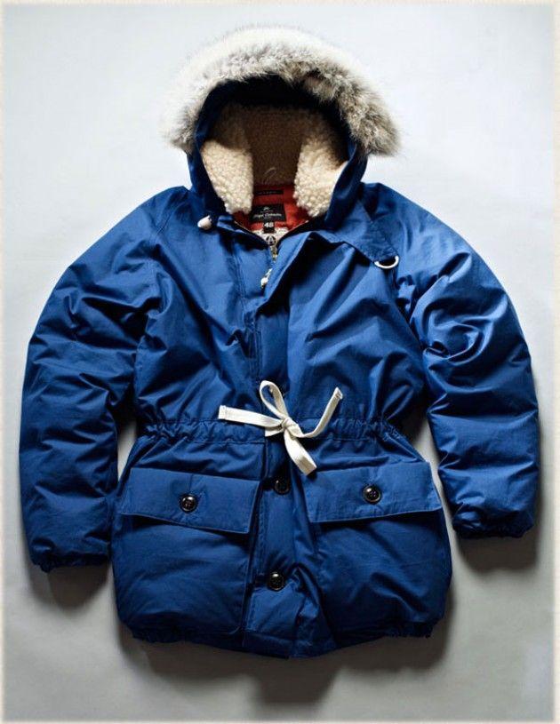bb989dd4c5ab Nigel Cabourn Vintage Everest Parka. 100% Cotton