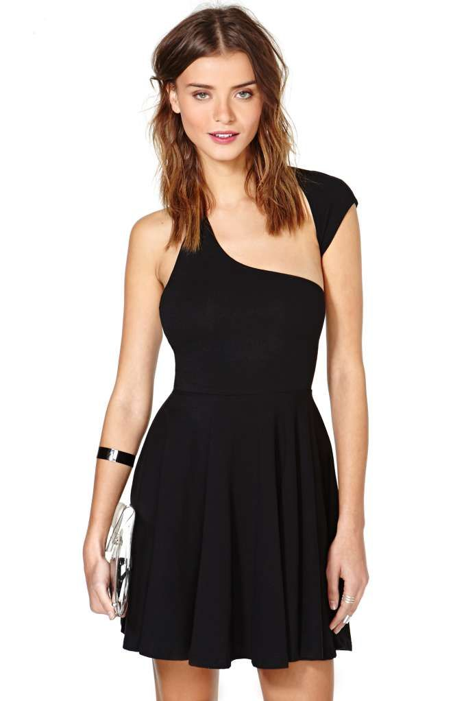 65cd66edf59 Nasty Gal One Over Skater Dress - Fit-n-Flare