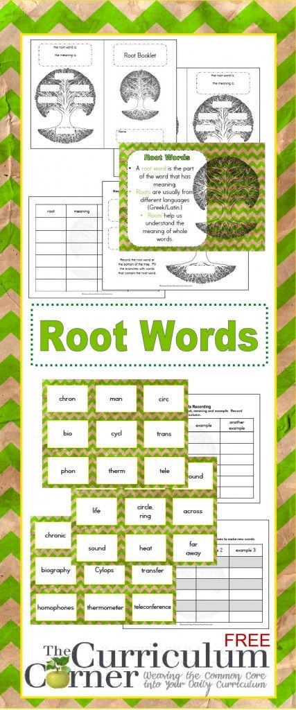 root word resources