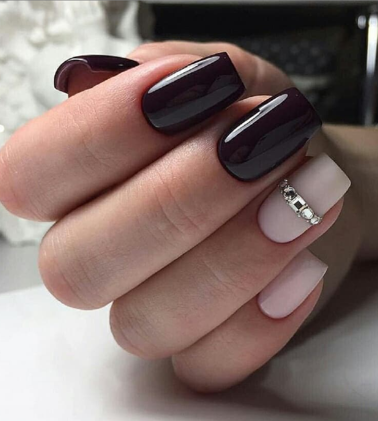 100 Trendy Stunning Manicure Ideas For Short Acrylic Nails Design Short Acrylic Nails Designs Short Acrylic Nails Gel Nails At Home