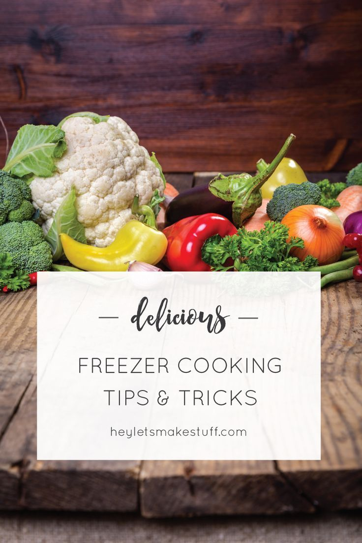 These are helpful tips and tricks to make your entire day of freezer cooking go much more smoothly!