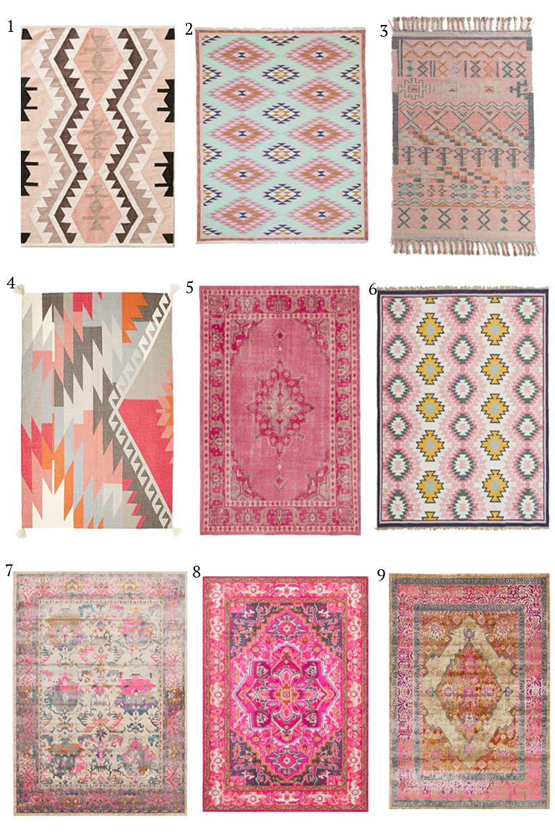 RD at Home Kilim Rugs Room and Living rooms