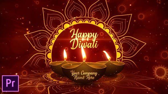Diwali Festival Opener - Premiere Pro Happy Diwali