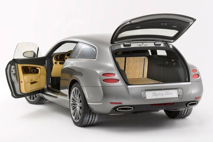 Bentley continental shooting brake
