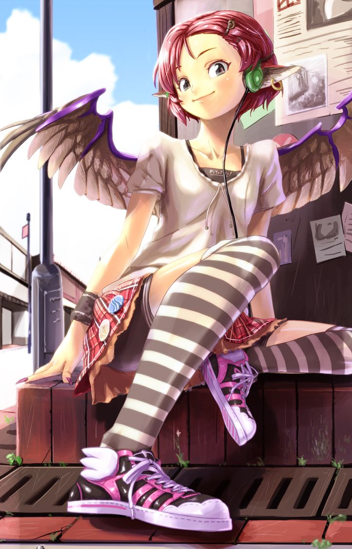 Park Art|My WordPress Blog_Anime Girl In Workout Clothes