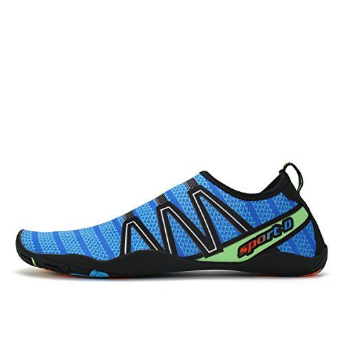 Water Shoes Men Women Kids Quick Drying Lightweight Flexible Barefoot Aqua Shoes For Swimming Boating Sailing Surfing Beach Pool Water Aerobics Sports