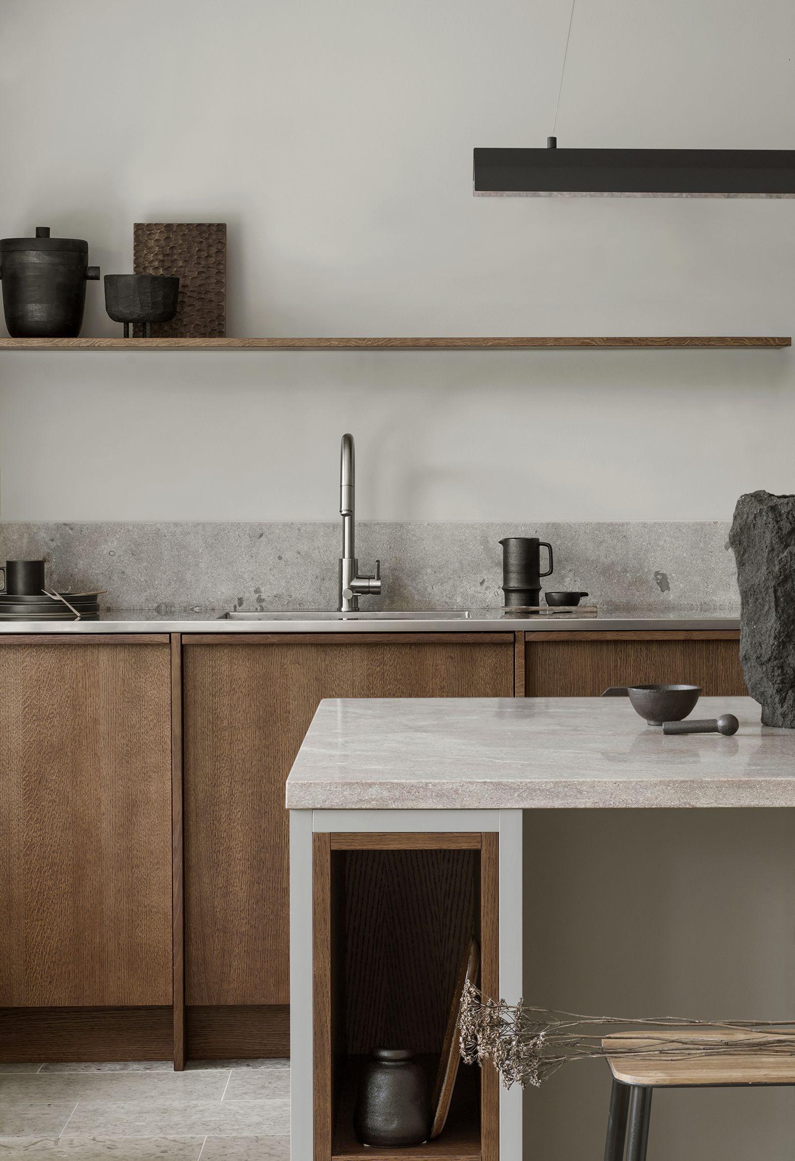 31 Inspiring Japanese Kitchen Style Koksinredning Interiorer