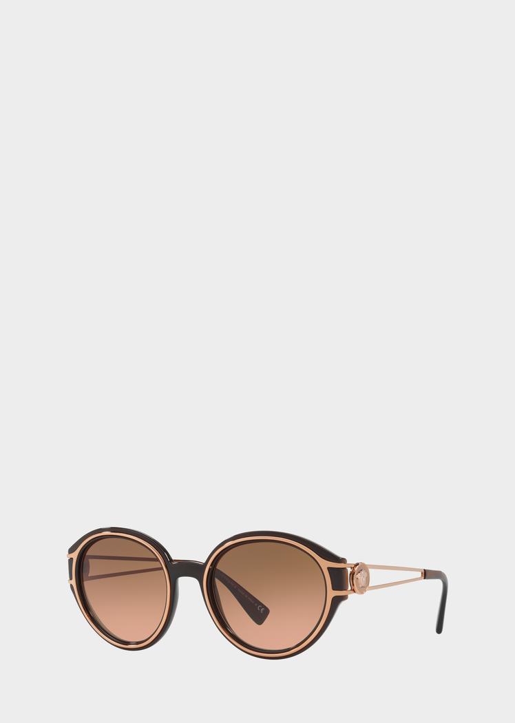 ae57a91f42fa Versace Gradient Orange V-Strong Sunglasses for Women
